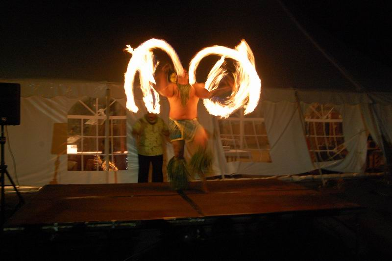 Fire Dancer at the Hiva Pacifika Luau