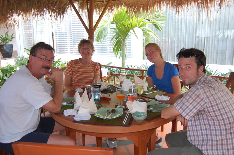 Lunch in Phnom Penh