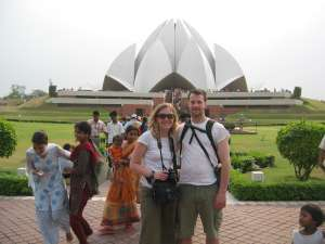 Lotus Temple Bahai in Delhi