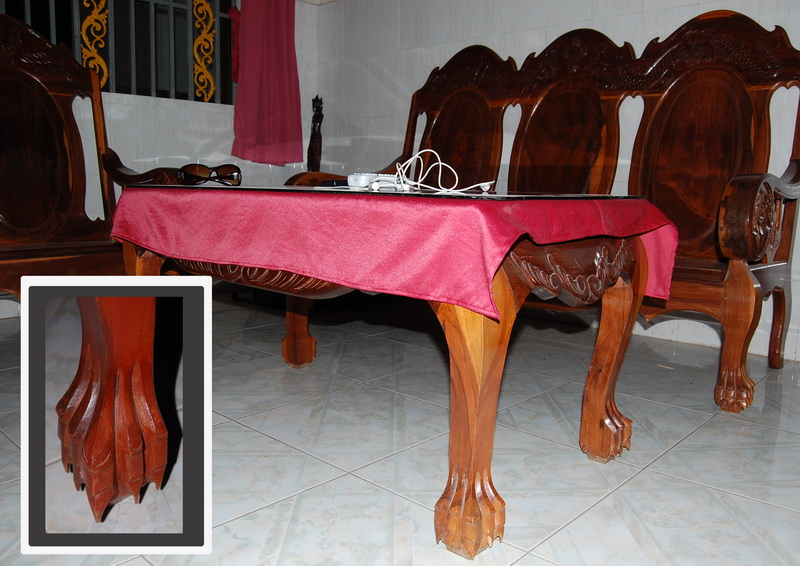Dragon claw furniture - the ultimate relaxation experience