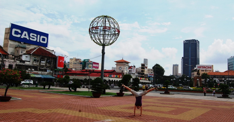 Cartwheeling in Saigon