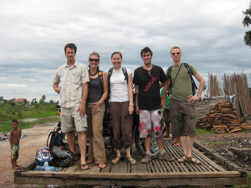 Passenger list - Steve, Amie, Aimee, Ed, Dan + some local commuters