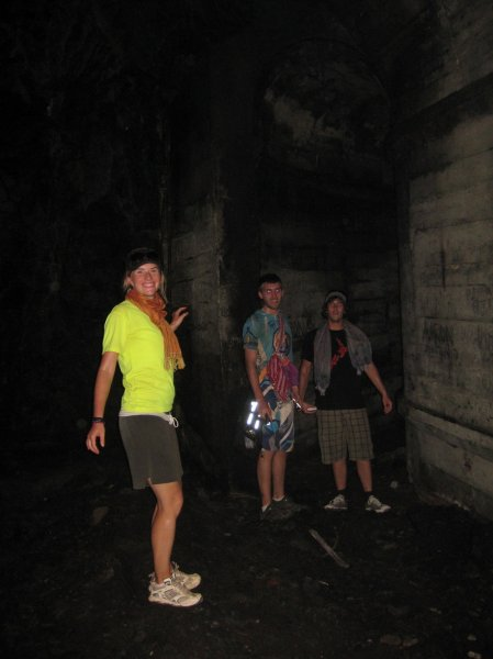 Exploring the secret underground complex