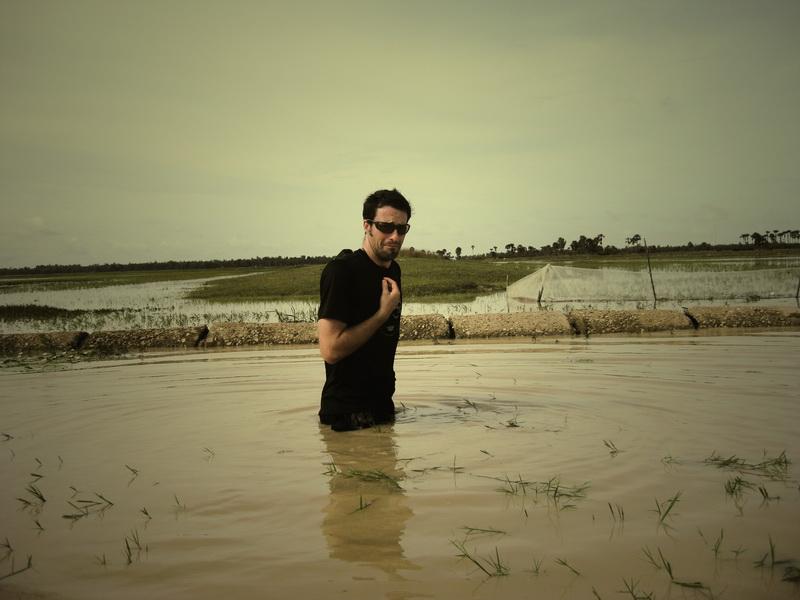 Crossing leechy water