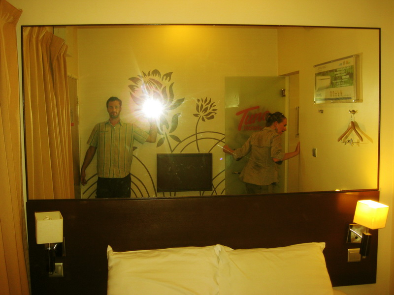 We were rediculously excited to stay at Tune hotel in KL for some reason