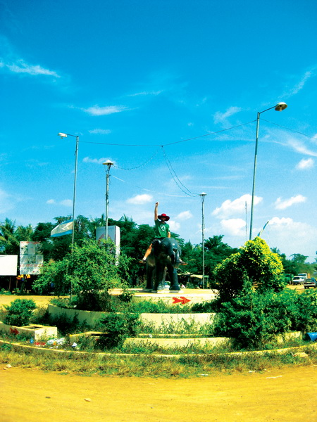 Roundabout in Pramaoy