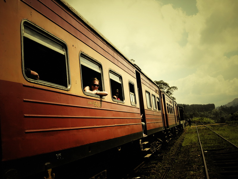 Train stopped mid route to Nuwara Eliya