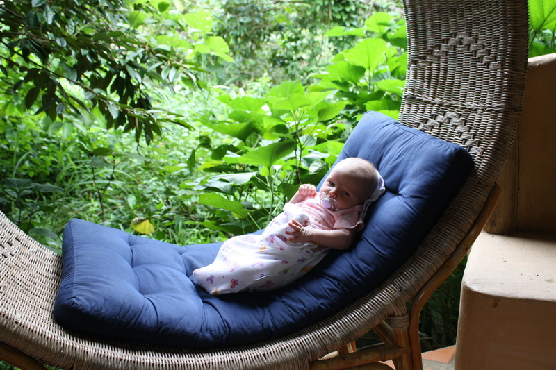 Relaxing at Jasmine Valley Ecolodge in Kep