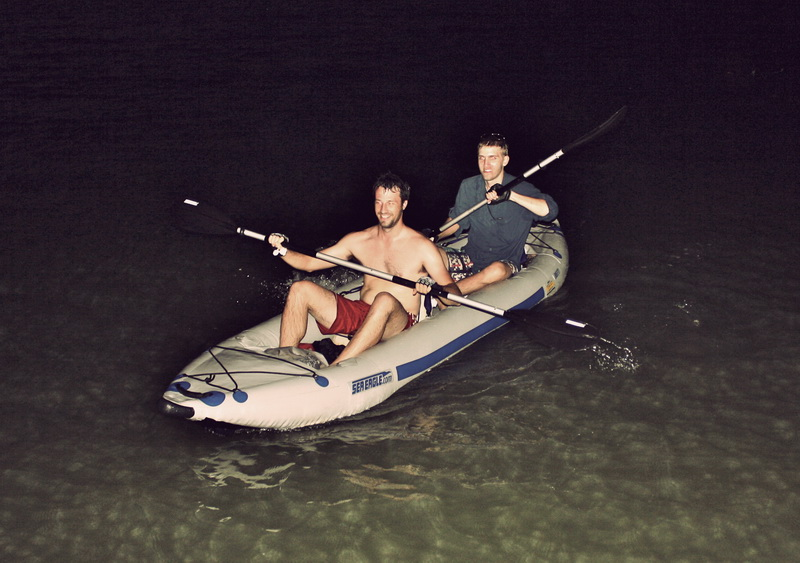 Steve + Tim arriving to Kep in the dark