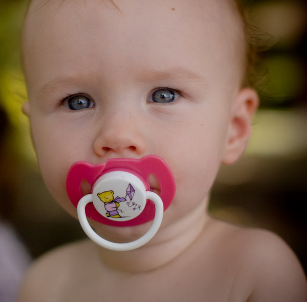 Aya's pacifier addiction