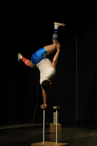 Performer at Phare Ponleu Selpak Circus