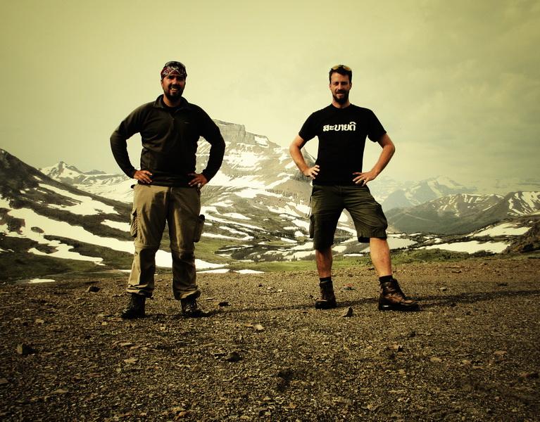 Chris + Steve at Deception Pass
