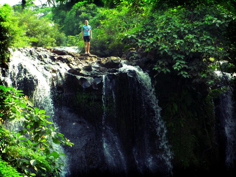 Tim on Kachanh Waterfall