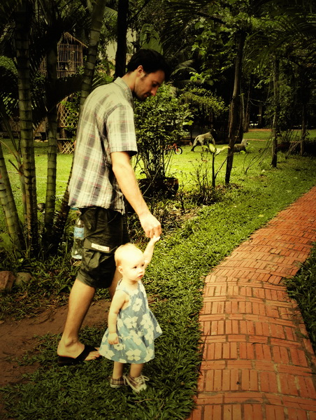 Steve + Aya in Kampot