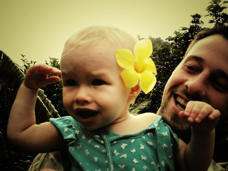 Aya hates the cute flower