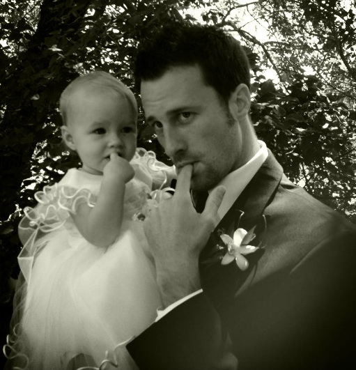 Aya + Steve at Rob and Jenn's Wedding