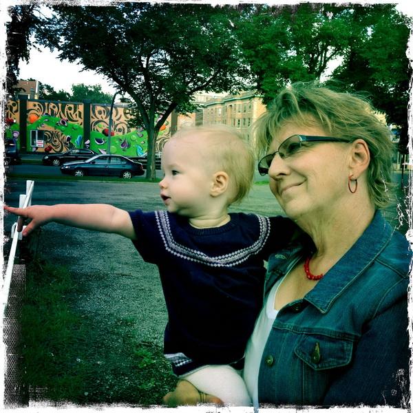 Aya + Grandma Campbell