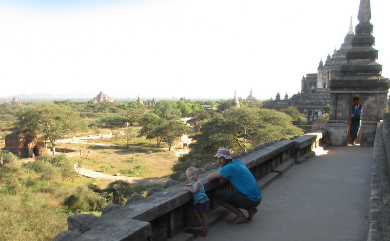 Steve + Aya tombraiding in Bagan