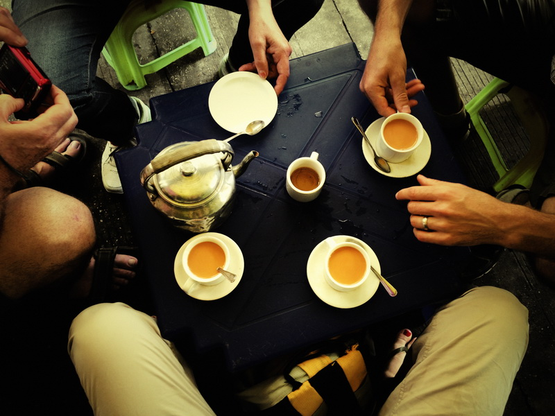 Tea time on the road