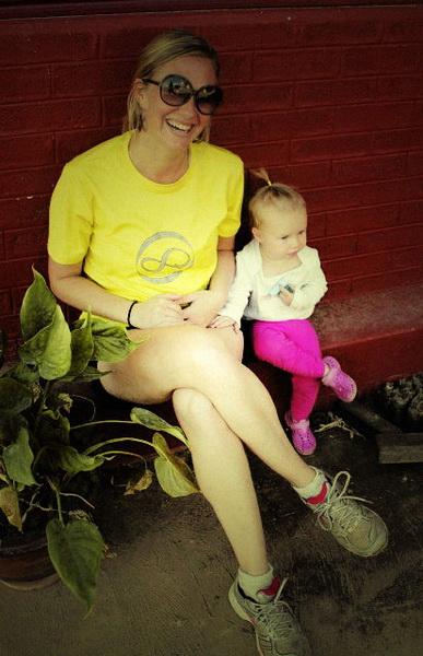 Fun with mom in Inle Lake