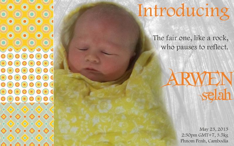 Introducing Arwen Selah!