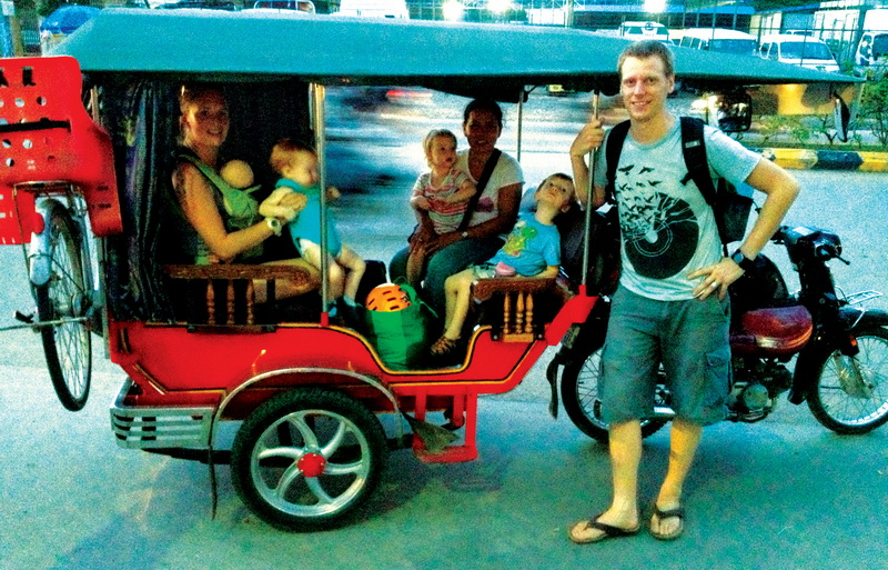 Complexities of travelling with multiple children