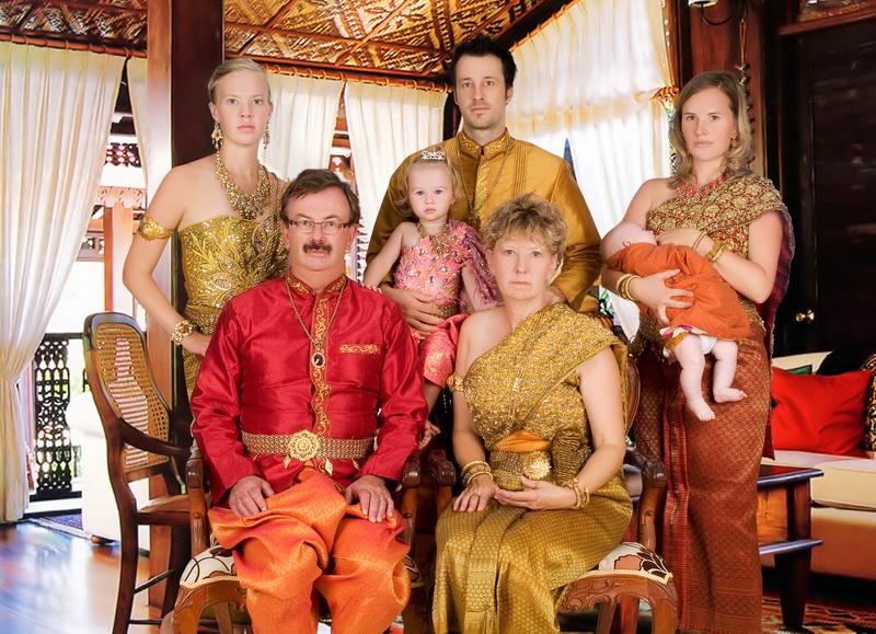 Angkorian dress