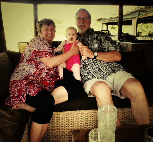 Arwen + grandparents
