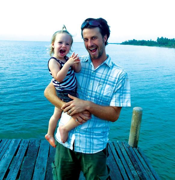 Steve + Aya at Kep sailing club