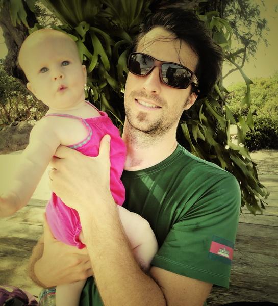 Steve + Aya hit the beach