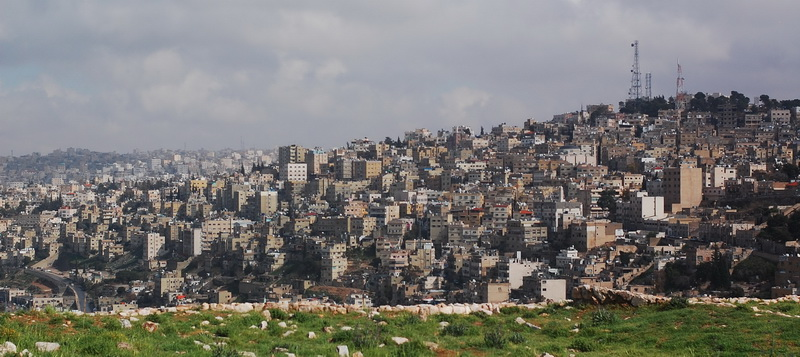 View over Amman
