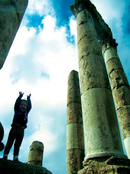 Temple of Hercules at the Amman Citadel