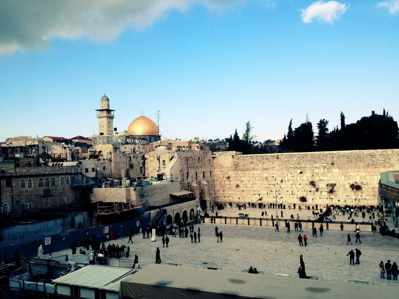 The Western wailing wall