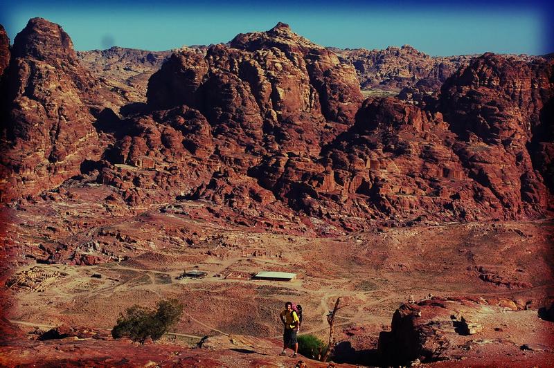 Landscape near petra