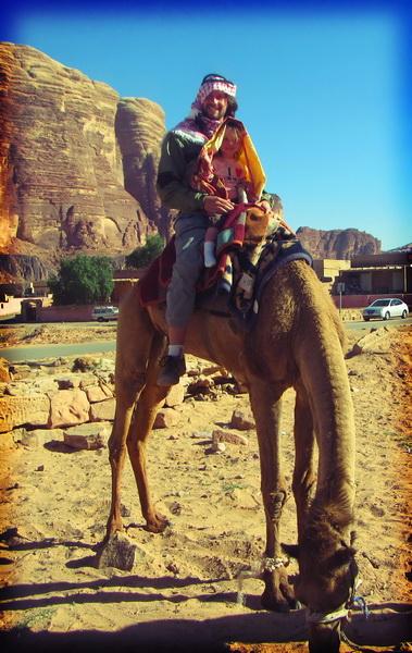 Steve + Aya's hungry camel