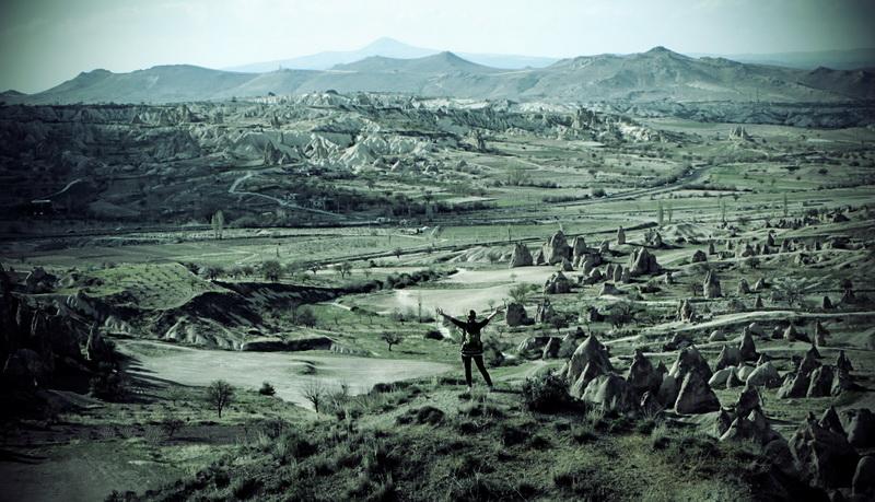 Amazing landscape of Cappadocia