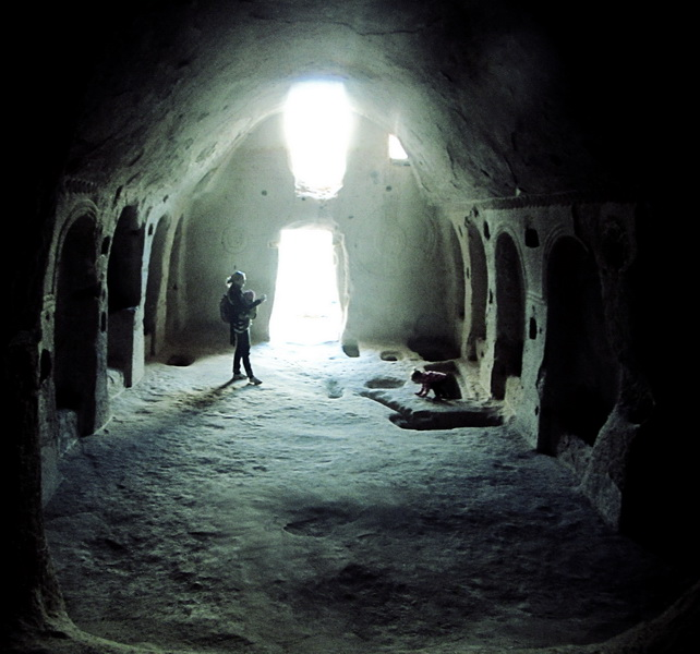 A cool cave church