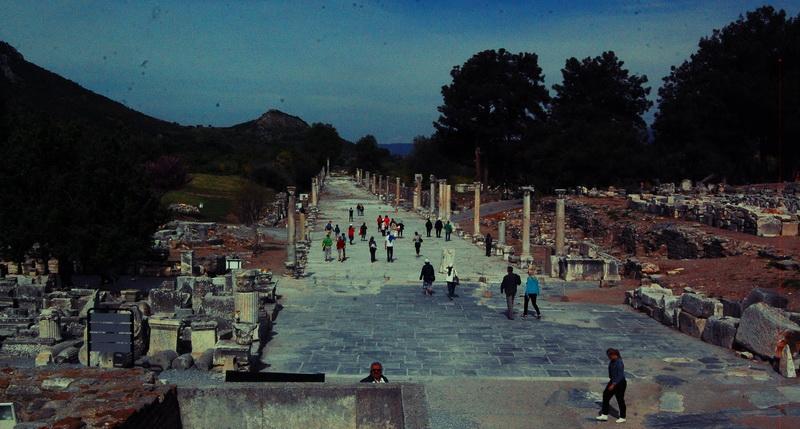 Walkway in Ephesus