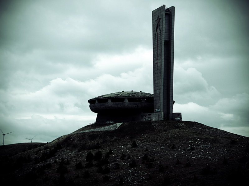 Standing proud on Buzludzha peak