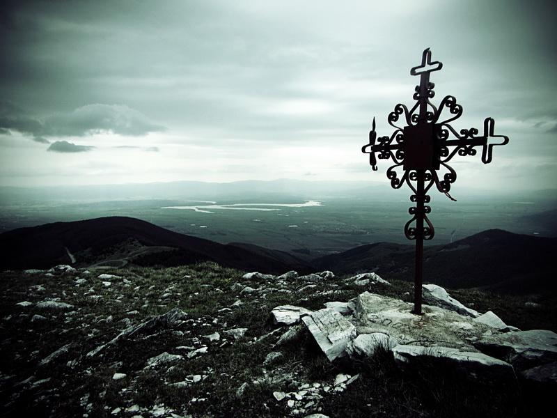Summit of nearby Buzludzha mountain
