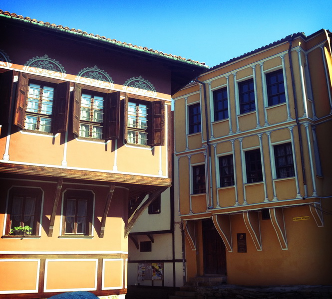 Architecture in old Plovdiv