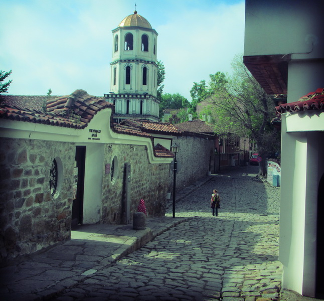 Walking the streets of old Plovdiv