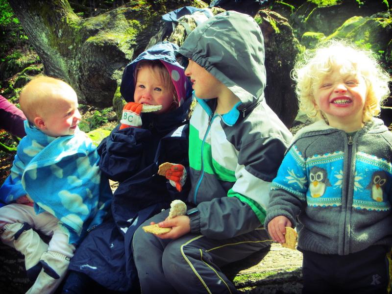 Arwen, Aya, Ronin, Royce having a blast