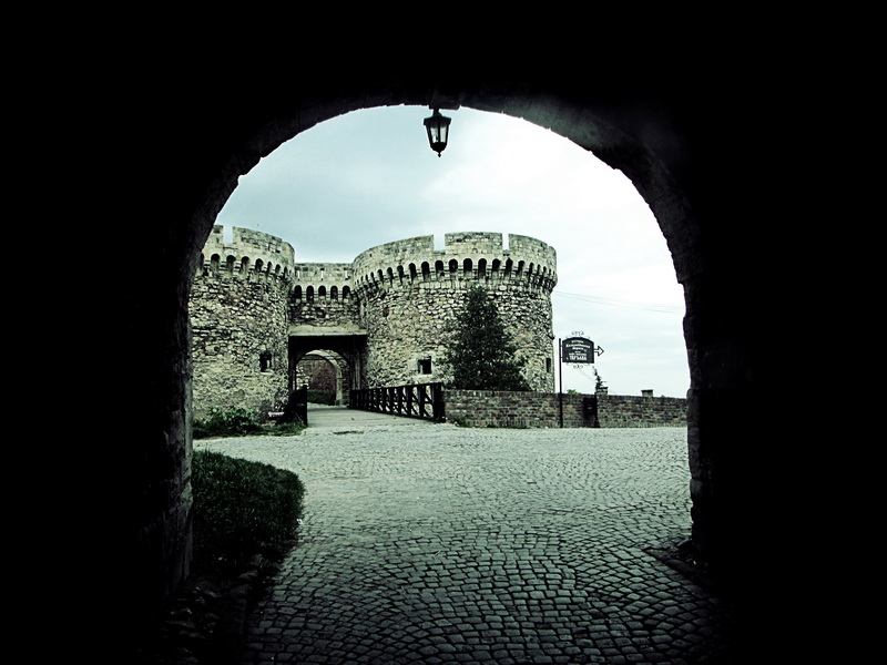 Entrance to Belgrade Fortress