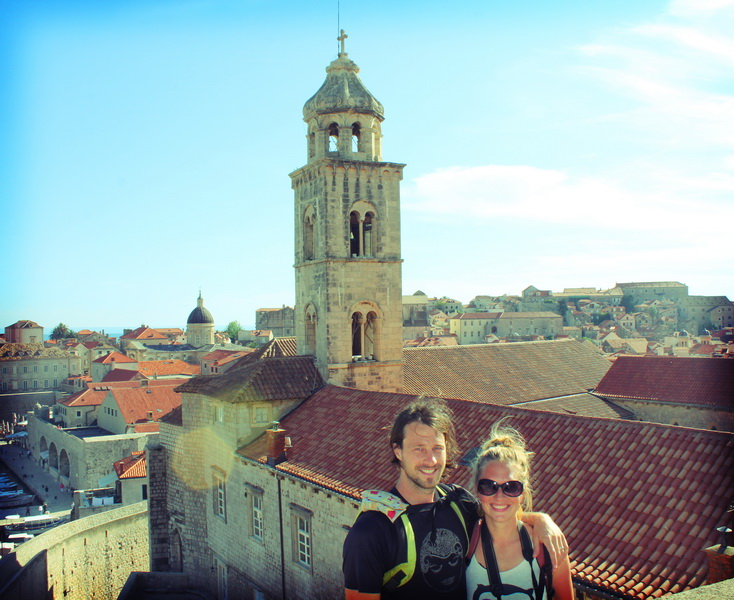 Amie and Steve in Dubrovnik