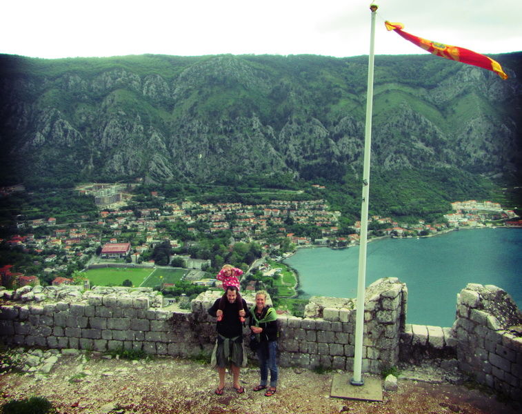 St. John's fortress above Kotor