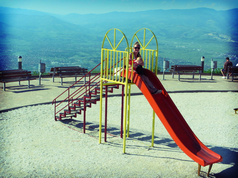 A really scenic playpark above Skopje