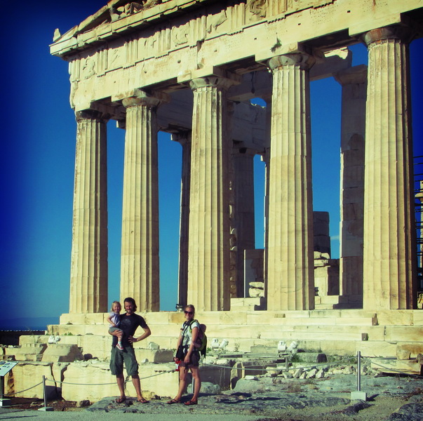 Family by the Acropolis