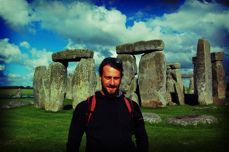 Steve at Stonehenge