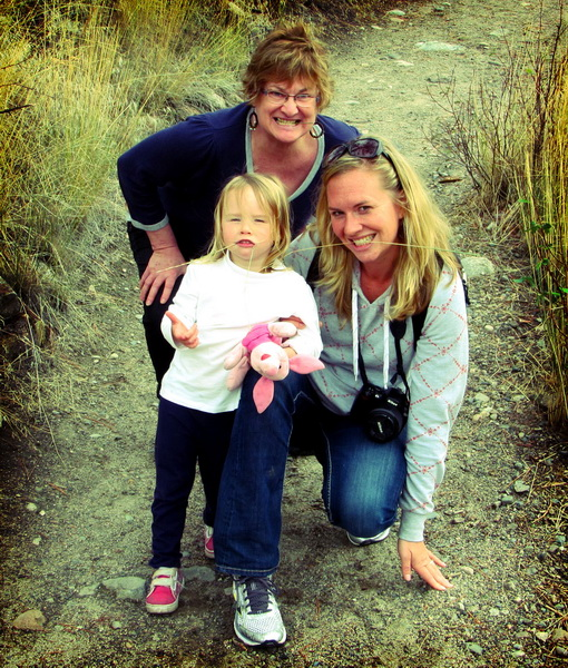 Aya, Sheila, and Amie at Bear Creek Prov. Park